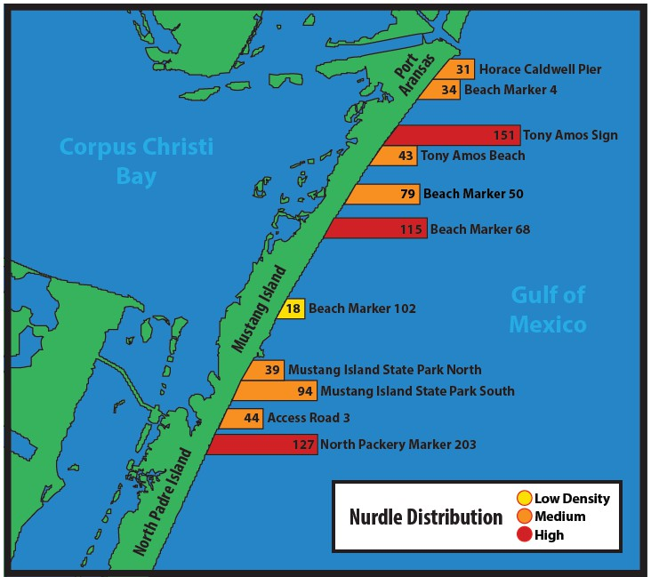 Port Aransas Beach Markers Map The Best Beaches In The World
